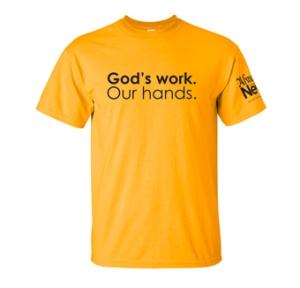 GodsWork-OurHands_Tshirt
