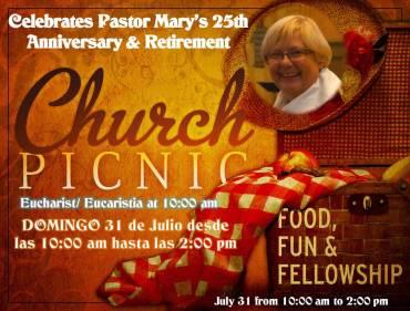 Pastor Mary